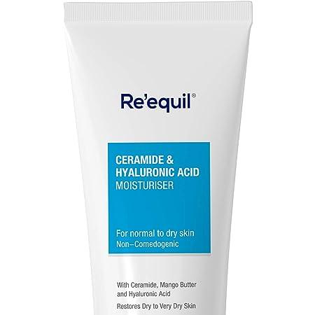 RE' EQUIL Ceramide & Hyaluronic Acid Moisturiser For Normal to Dry Skin -100 g