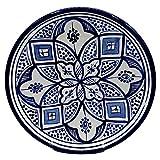 Etnico Decoración Plato Cerámica Pared Caudal Decorativo Marruecos 1103201005