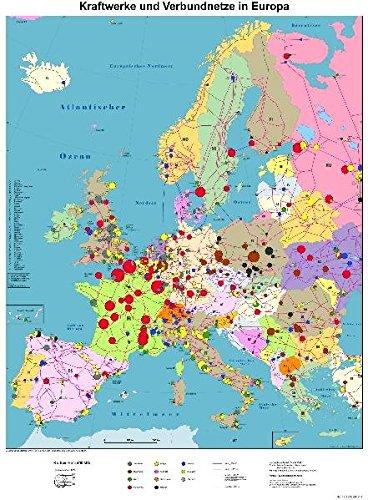 Kraftwerke und Verbundnetze in Europa: Über 620 Kraftwerke ab 400 MW sowie europäisches Höchstspannungsnetz. Ein Überblick über die europäische Energiewirtschaft [CD-ROM]