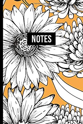 Notes: Daisy Vintage Paisley Patterns | Notebook for Professionals | Classy Art Deco and Vintage Pattern Journal