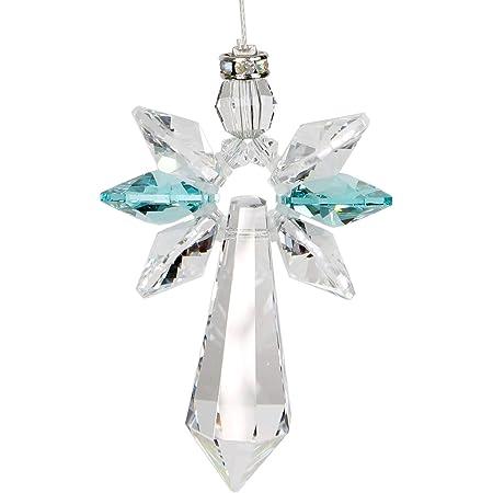 Gorgeous Wabi Sabi  Crystal Clear /& Vintage Aurora Borealis Prisms minimalist stick windchime mobile suncatcher