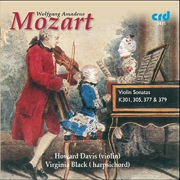 Mozart: Violin Sonatas K. 301, K. 305, K. 377 & K. 379