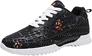 Mens Women Couple Color Graffiti Sneakers Fashion Galaxy Print Breathable Running Casual Non-Slip Shoes