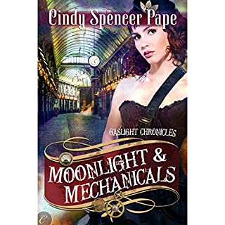 Moonlight & Mechanicals audiobook cover art