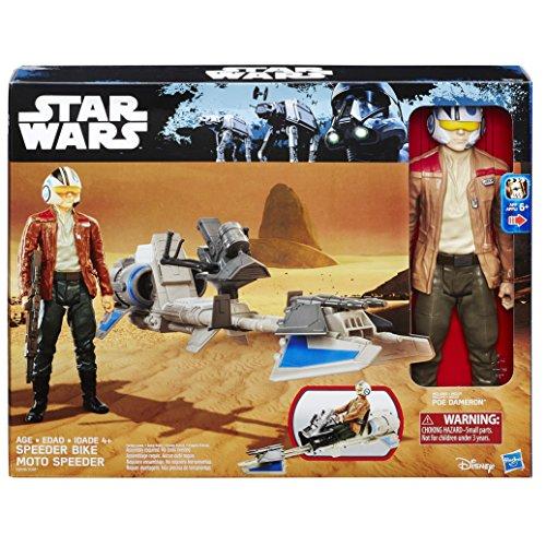 Disney Star Wars Episode VII - Speeder Bike incl. Poe Dameron