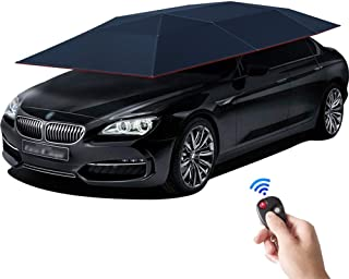 Invezo Impression Automatic Car Umbrella, Car Shed - Opens Using a Remote Control - 4.6 Meters (Dark Blue)