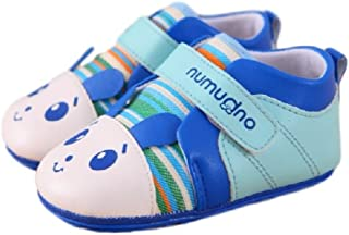 Youchan(ヨウチャン)赤ちゃん キッズ 女の子 ベビーシューズ ファーストシューズ 子供靴 パンダ柄 マジックテープ お出かけ 散歩 10.5cm 11.5cm