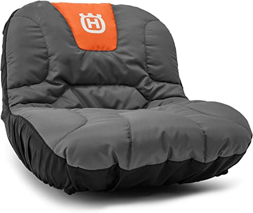 lowest Husqvarna outlet online sale Tractor Seat Cover Riding popular Mower Accessories, Orange/Gray sale