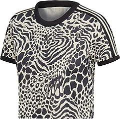Adidas 3 Stripes W Camiseta de Manga Corta para Mujer
