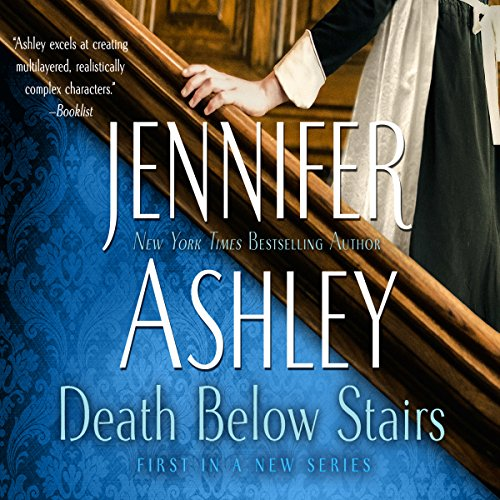 Death Below Stairs audiobook cover art