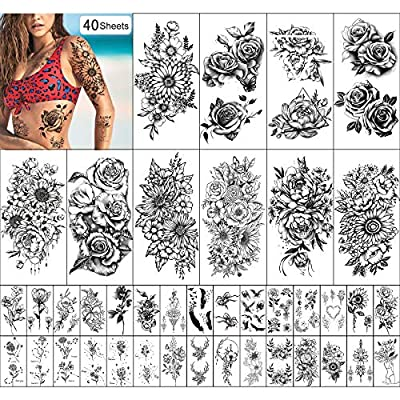 Wasserdichtes Temporäres Tattoo für
