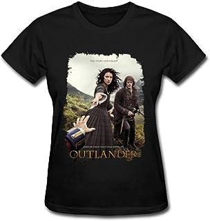 JuDian Outlander TV Temporada 2 la Historia Sigue T Shirt para la Mujer