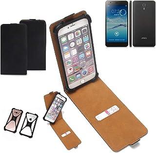 7350dfe6260 K-S-Trade Funda Flipstyle para Jiayu S3 Advanced Estuche Cubierta Flipcase  Tapa para Smartphone Protector