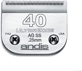 Andis AG UltraEdge Surgical Stainless Steel Detachable Blade, Size 40
