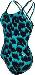 Speedo Leopard Maillot, Feminino