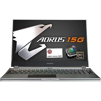[2020] AORUS 15G (YB) Performance Gaming Laptop, 15.6-inch FHD 240Hz IPS, GeForce RTX 2080 Super Max-Q, 10th Gen Intel i9-10980HK, 32GB DDR4, 512GB NVMe SSD
