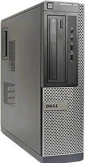 Dell Optiplex 390 Desktop PC - Intel Core i3-2120 3.3GHz 4GB 250GB DVD Windows 10 Pro (Renewed)