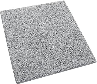 Koeckritz Custom Sized Area Rug (Color: Pewter Gray). You Measure The Space, and We'll Custom Cut Your Rug to Fit