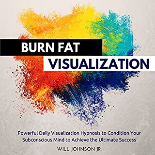 Burn Fat Visualization audiobook cover art
