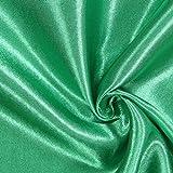 Fabulous Fabrics Satin grasgrün, Uni, 148cm breit –