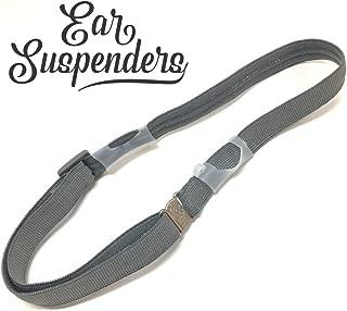 Ear Suspenders Headband for Hearing Aid Retention (Grey) (Child)