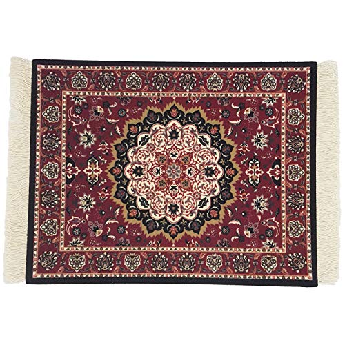 DESIGNMANUFAKTUR Teppich Mauspad Perser Mousepad orientalischer Teppich als Mousepad Mausunterlage - lustiges Büro Zubehör - Motiv 4