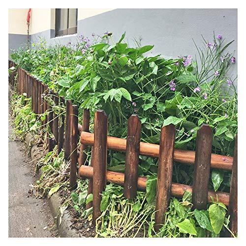 ZHANWEI Valla de jardín Bordura de jardín De Madera De Pie Plantas Vegetales Barandilla Césped Patio, Una Variedad De Estilos (Size : 92x60cm)