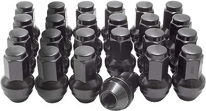 M14 X 2.0 Black Wheel Lug Nuts for Most Ford Lincoln Trucks SUVs 4L3Z1012A 7L1Z1012A Wheel Lug Nut (24)