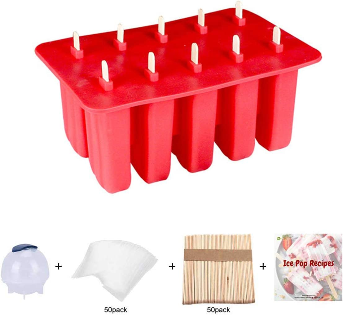 Homemade Silicone Ice Pop Maker Mold unisex Popsicle Molds Reu for Rapid rise Kids