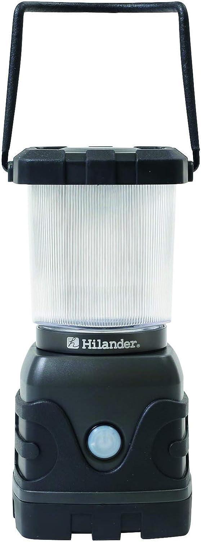 1100ルーメンLEDランタン 単一電池式/Hilander(ハイランダー)