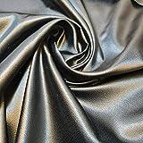 Textile Station Kreppstoff, einfarbig, weich, Lederoptik,
