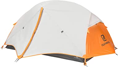 Featherstone 2 Person Backpacking Tent Lightweight for 3-Season Outdoor Camping, Hiking, and Biking - Includes Footprint, ...