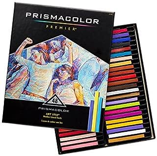 Prismacolor三福Premier Art Stix Woodless Colored Pencils软芯彩色铅笔