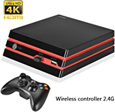 COOLBABY Nostalgic Retro Game Console Wireless Controller Version of the Game Console Built-in 600 Classic Games (Support ...