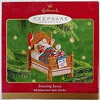 Hallmark 2001 Magic Keepsake Ornament Snoozing Santa - Movement! 【Creative Arts】 [並行輸入品]