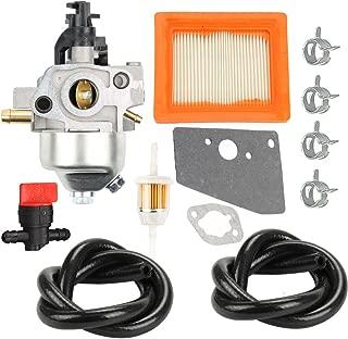 Buckbock 14 853 36-S Carburetor Air Filter for Kohler XT650 XT675 XT6.5 XT6.75 Engine Toro Lawn Mower with Gaskets Fuel Line Valve
