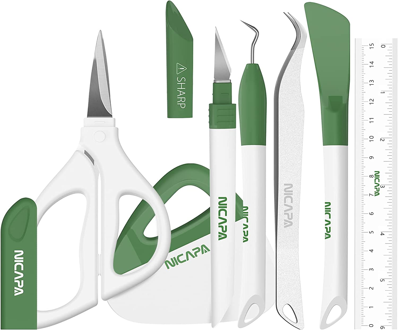 Nicapa Basic Popular standard Tool Set Many popular brands Craft Too Crafting Weeding Vinyl Cardstock