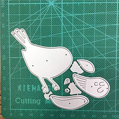 Craft Dies Animal Bird Metal Cutting Dies Cut die Mold Decoration Scrapbook Dies Knife Mould Blade Punch Stencils Dies
