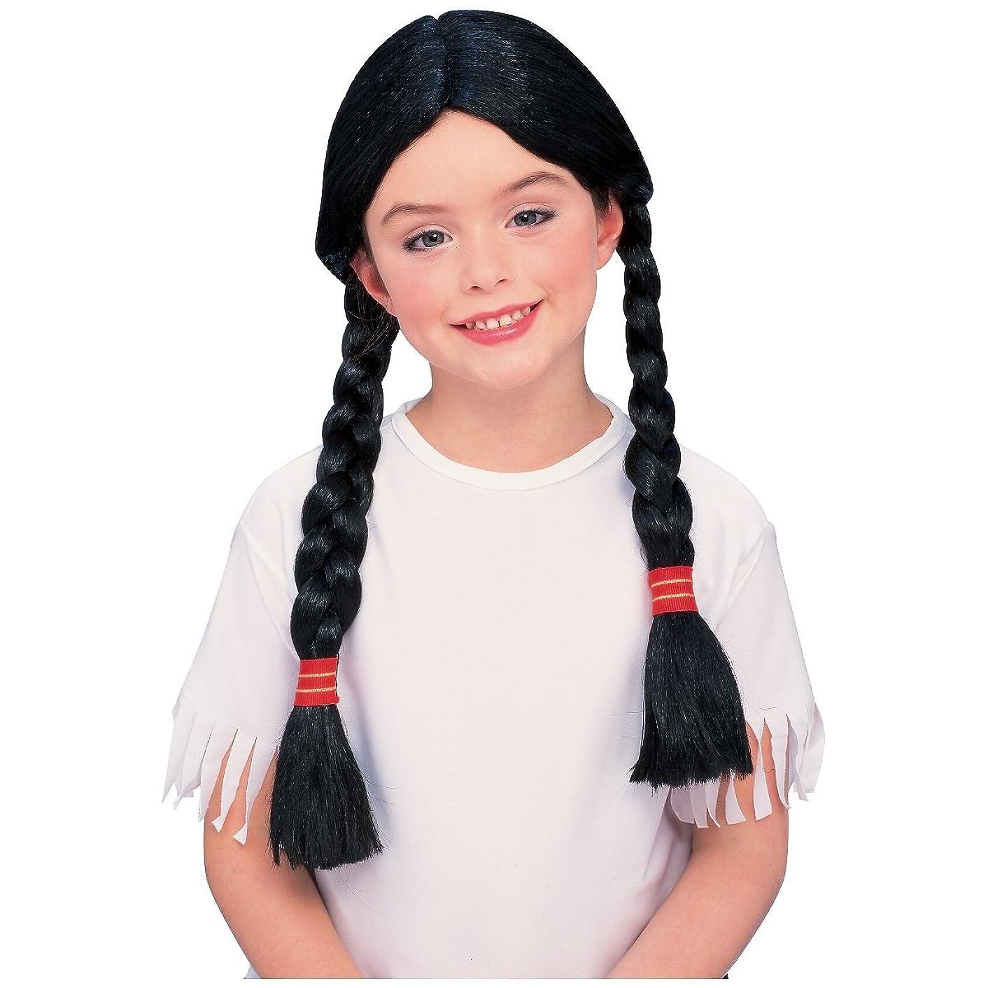 Native American Girl Wig Costume Accessory