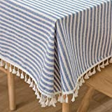 Plenmor Cotton Linen Table Cloth...