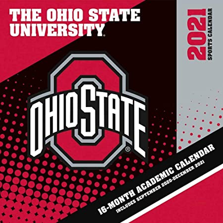 Osu Academic Calendar 2022.Amazon Com 2021 Vintage Ohio State Buckeyes Football Calendar Office Products