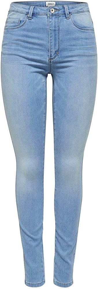 Only,  jeans skinny  per donna , 69% cotone, 29% poliestere, 2% elastan 15188520A