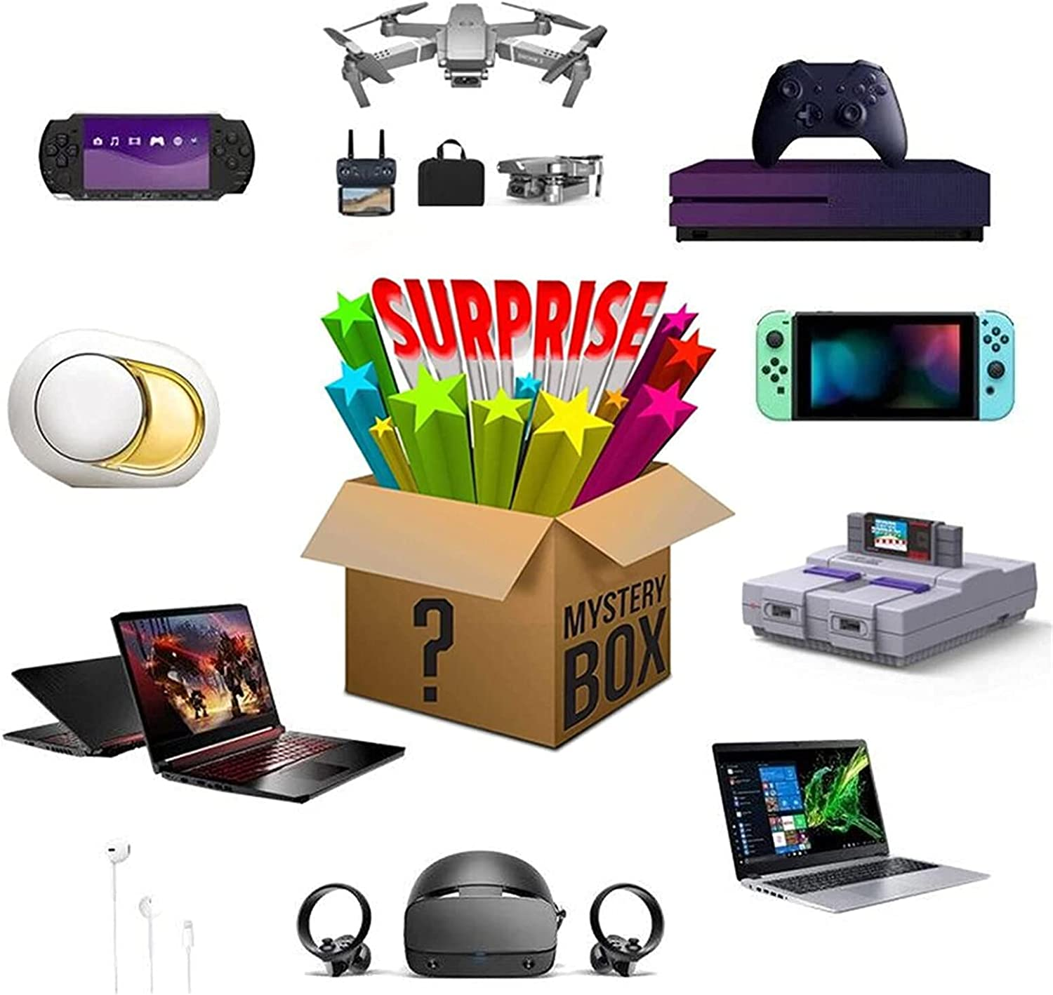 Lucky Box Mystery Boxes Electronic Blind Super Finally lowest price popular brand Cost