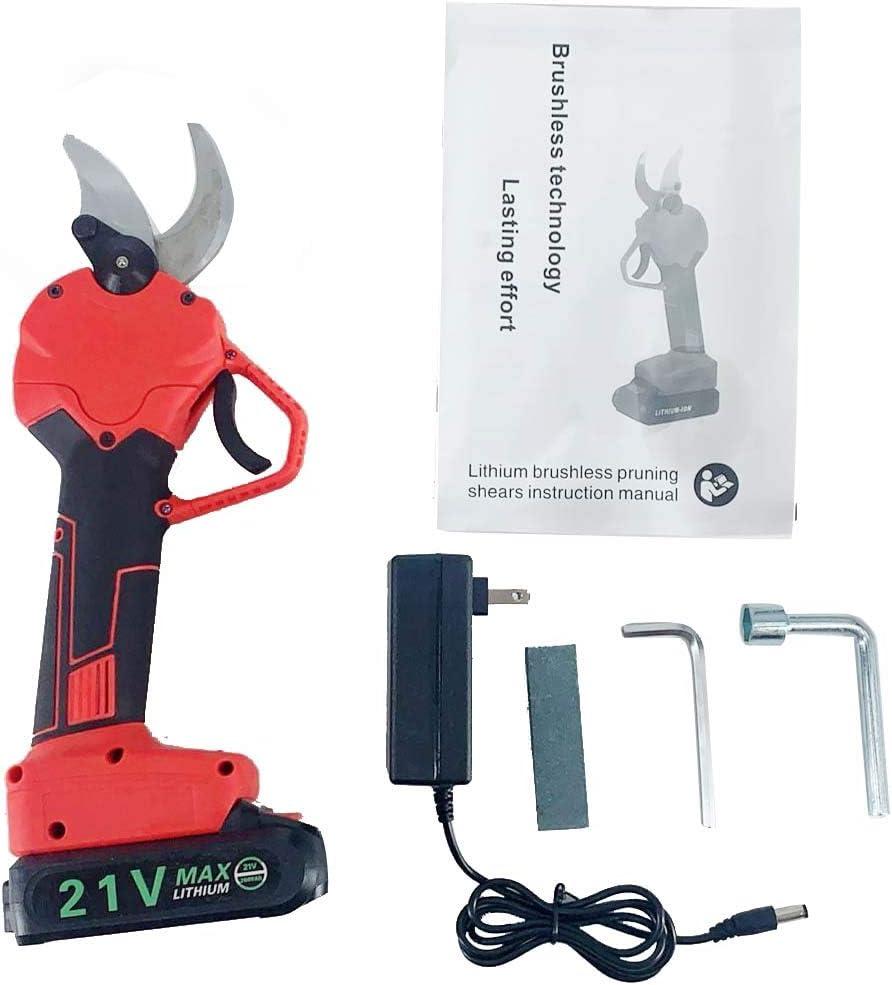 ECUTEE Portable Electric Cordless Pruning Shears   Hedge Pruner ...