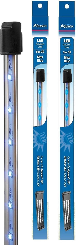 (2 Pack) Aqueon Max bluee Modular LED Aquarium Lamp, Size 36