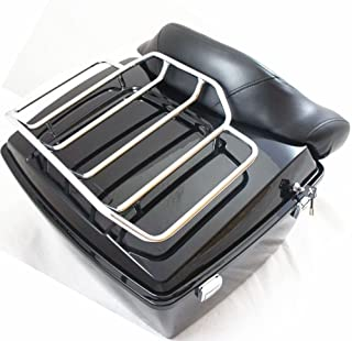 Carrier Systems Bags & Luggage Tour Pak Top Rail Luggage Rack For Harley Touring Road King Street Glide Classic Flht Flhr Flhx Flrt Cvo Motorcycle