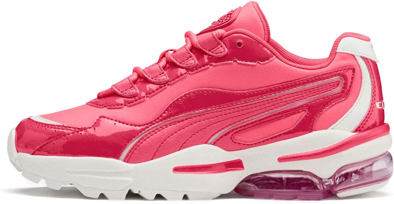 PUMA Womens Cell Stellar Neon Low-Top Lifestyle Fashion Sneakers