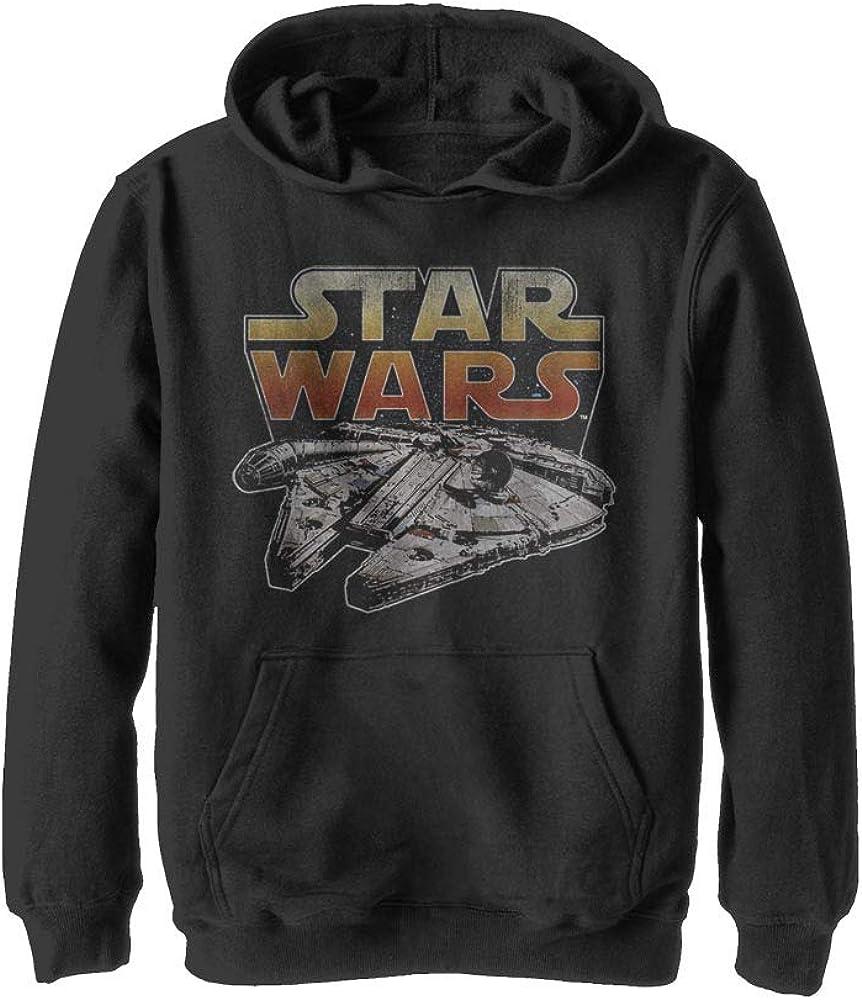 STAR WARS Boys' Hooded Pullover Fleece