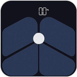 MHBY Báscula de Peso, báscula de Peso Inteligente Báscula de baño Digital inalámbrica Inteligente Analizador de composición Corporal con aplicación para teléfono Inteligente Báscula de baño
