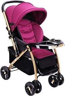 Barnvagn med vändbart styre, bärbar lätt barnstol baby resa buggy-b